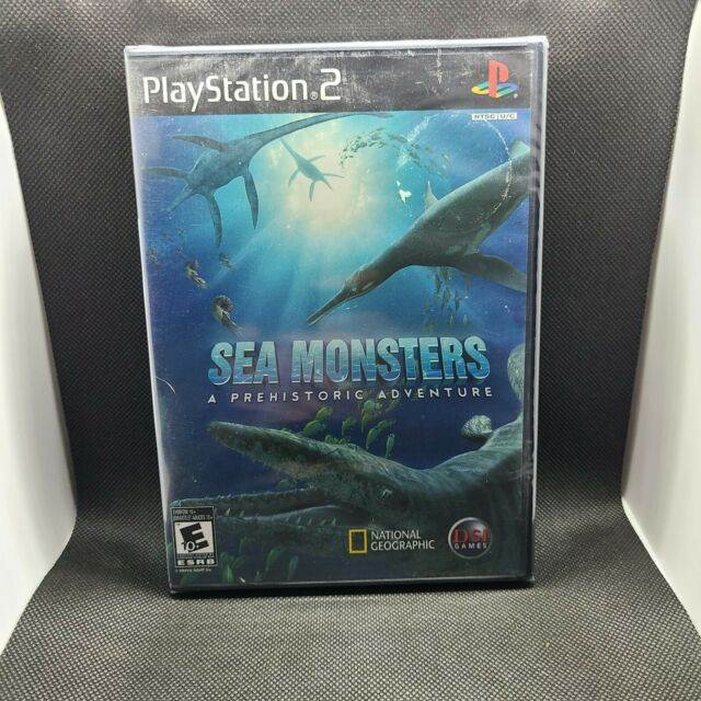 Sea Monsters A Prehistoric Adventure (PlayStation 2 PS2 2008) Brand New