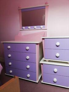 Next Girls Bedroom Furniture Set Ebay