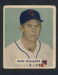 1949-Bowman-159-Glen-Moulder-VG-VGEX-RC-Rookie-White-Sox-104238