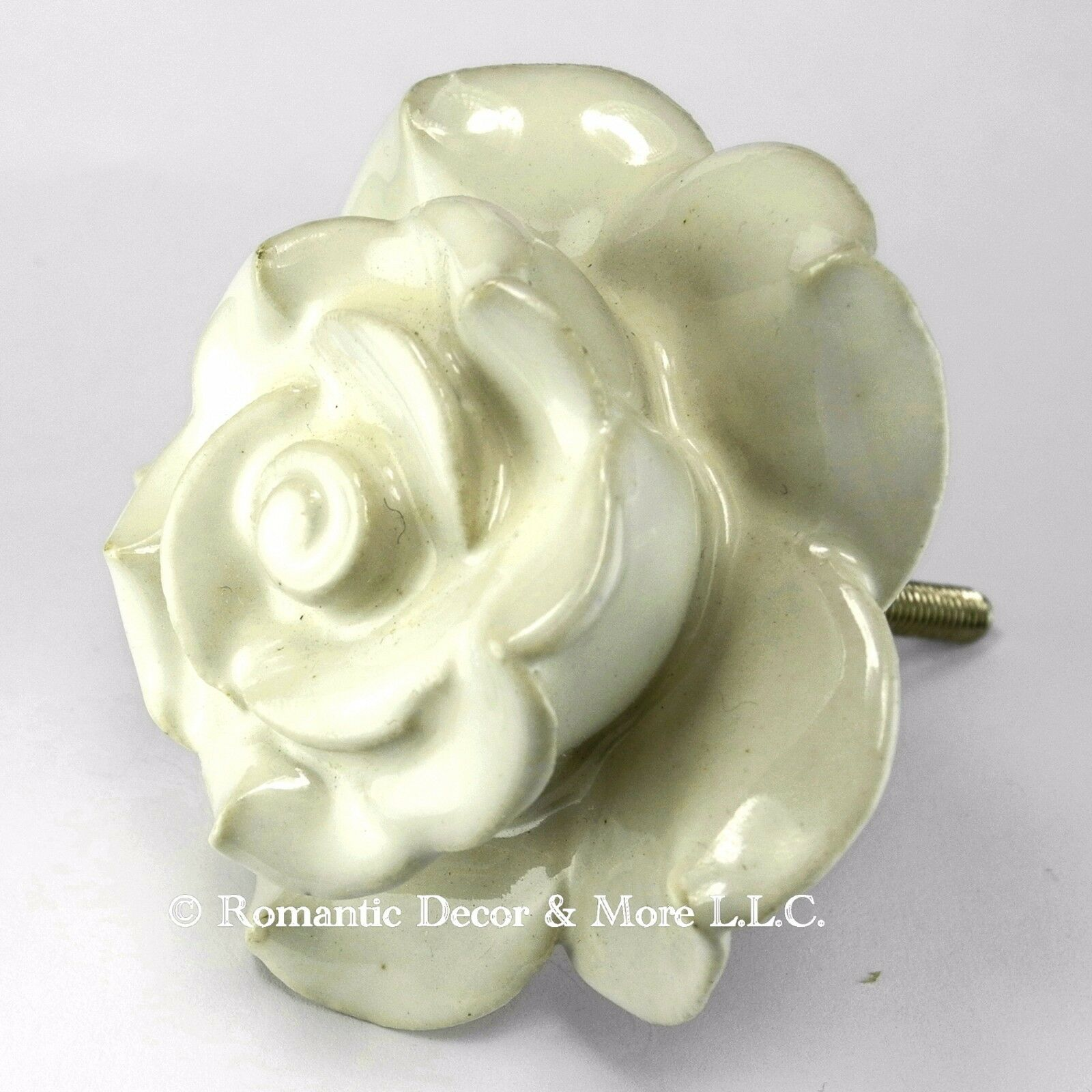 Cabinet Knobs, Ceramic Drawer Handle or Bathroom Knobs and Pulls  C101