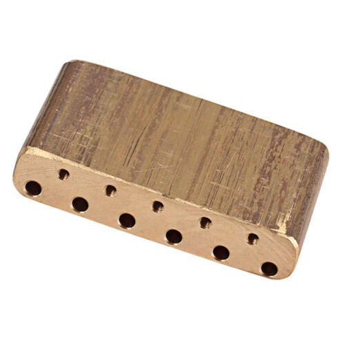 Messing Tremolo Block Gitarren Brücke Zubehör