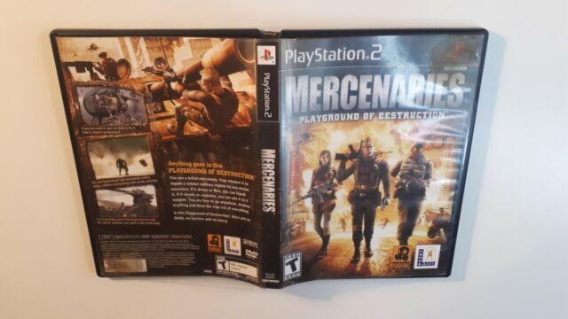 Mercenaries : Playground Of Destruction - Ps2 (Sony Playstation 2) w/ BOX