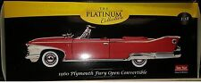 1960 PLYMOUTH FURY CONVERTIBLE Diecast 10 inch SUNSTAR 1:18 PLATINUM SS 5402 RED