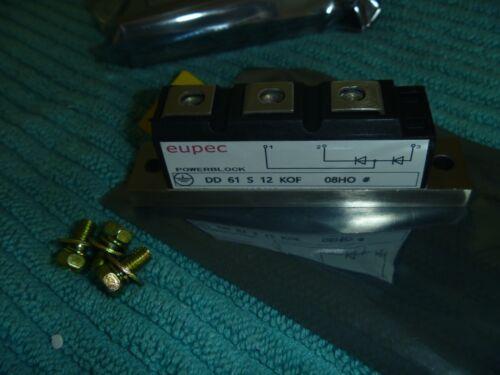 NEW MODULE  DD61S12K DD61S12KOF EUPEC LOCATION M