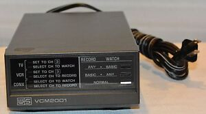 Vintage VCM 2001 Video Control Module System W & S Electronics with