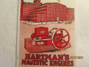 1916-Hartman-Co-Majestic-Gas-Engine-Catalog-All-sizes-hit-miss-mags-pumps