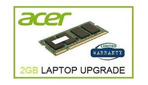 2gb Ram Memory Upgrade Acer Aspire One Za3 A0751h 52bk 1 33ghz
