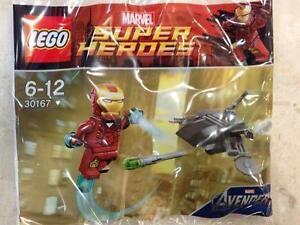 *BRAND NEW* Lego 30167 Super Heroes Avengers IRON MAN vs FIGHTING DRONE