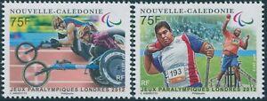 New Caledonia 2012 SG1563-1564 Paralympics London set MNH
