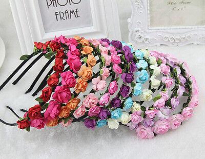 New Arrival Boho Style Floral Flower Women Hair band Headband Party Wedding