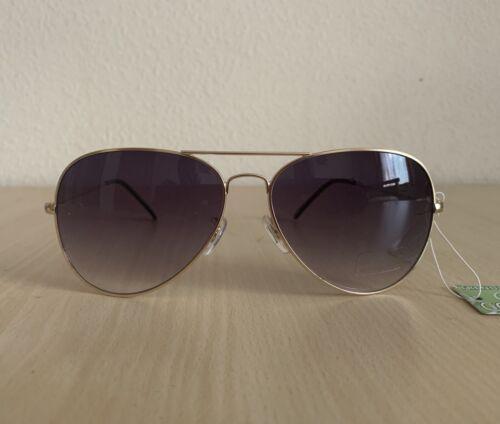 Silver UV Safe 80's Retro Aviator Sunglasses