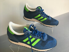 0104a41624974 adidas Men s ZX 700 Im Running Shoes S79190 Blue neon Green Athletic ...