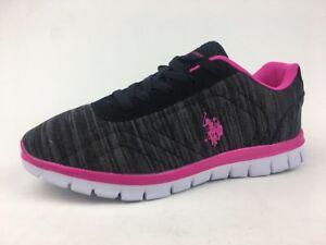 Polo Women Black Sneakers U.S
