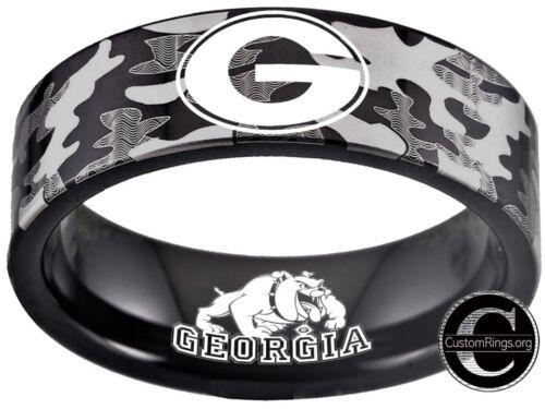 Georgia Bulldogs Ring Bulldogs Logo Ring Camo Camouflage #uga #bulldogs NEW