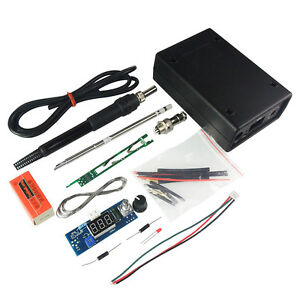 Digital-Soldering-Iron-Station-Temperature-Controller-Kits-For-HAKKO-T12-Shell