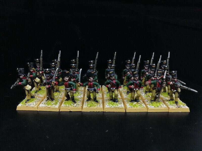 1 56 28mm napoleónicas Departamento de Guerra de seguridad pública Pintado prusiano fusileros pie RC849