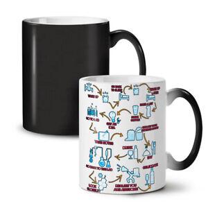Chemistry Geek Life NEW Colour Changing Tea Coffee Mug 11 oz | Wellcoda