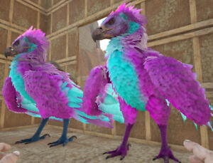 Ark Survival Evolved Xbox One PvE x2 Cotton Candy Argentavis Fert Eggs 300+ Lvl