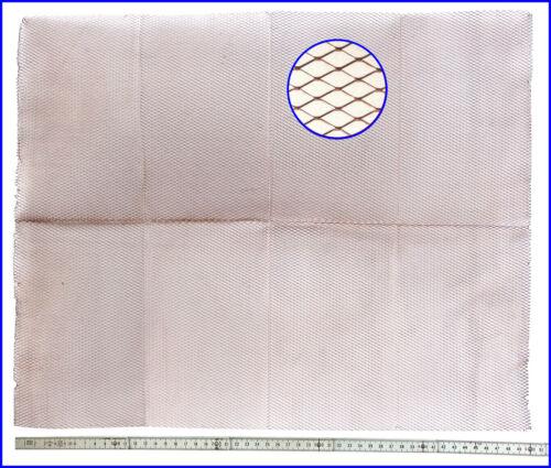 Raute 6,3 Copper Mesh 207,50€//m² Kupfergitter GROSS 40x50 cm MEDIUM