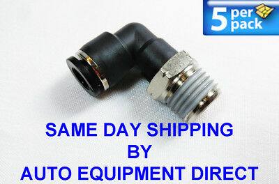 Elbow fitting 6mm push in x 1//8 thread for Corghi Ranger Atlas tire changer 5