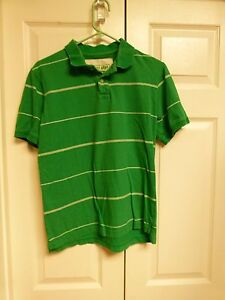 71b69c38c XL BOYS POLO SHIRT STRIPED GREEN WHITE URBAN PIPELINE EUC   eBay