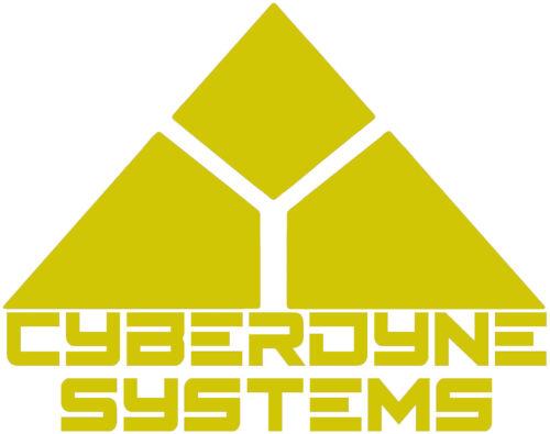 Terminator CYBERDYNE SYSTEMS Skynet Autocollant Vinyle Autocollant Voiture Van Ordinateur Portable Tablette