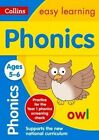 Phonics Ages 5-6 by Collins Easy Learning, Sarah Lindsay, Rachel Grant (Paperback, 2015)