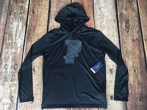 Polo Ralph Lauren Men/'s P-Wing Performance Hooded T-Shirt Black