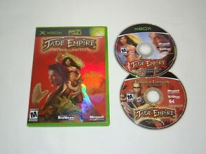 B3-Xbox-Jade-Empire-Limited-Edition-game-w-case-amp-2-discs-tested-working