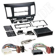 MITSUBISHI LANCER CYO ab 2007 1-DIN Autoradio Radioblende+ ISO Adapter Einbauset
