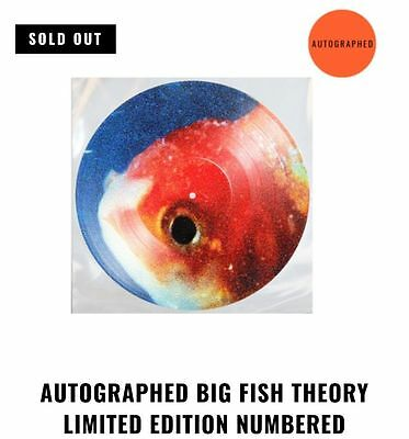 Vince Staples Big Fish Theory Picture Disc Vinyl Signed