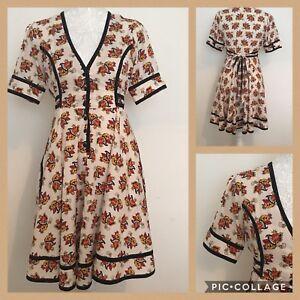 Tea Vintage Années pour Dress Moss Kate Tattoo 10 Rare Swing 1950 Retro Uk Topshop BZnzTwPgq