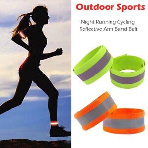 LED Flashing /& Reflective Armband Belt For Night Cycling /& Running