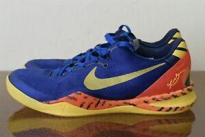 chaussures de sport 211e1 bd5d4 Details about Nike Zoom KOBE VIII 8 SYSTEM PP Barcelona 555035-402 Sz 9