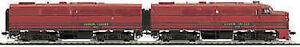 MTH-80-1131A-HO-Scale-FA-1-A-B-SET-Lehigh-Valley-PROTO-SOUND-DC-DCC
