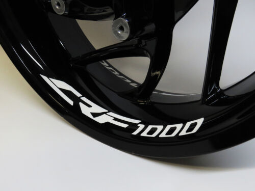 Felgenbett Autocollant 790008 crf-1000 4er-set Convient Pour Honda Moto