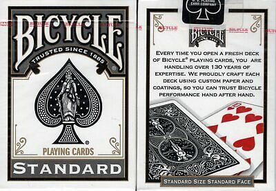 Bicycle Illusionist Dark Playing Cards Deck New Sealed
