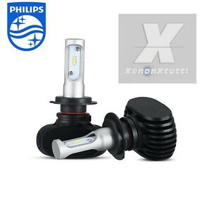 Kit led 55w xenon 8000 lm lumen h7 6000k lampade led ebay for Lumen lampade led