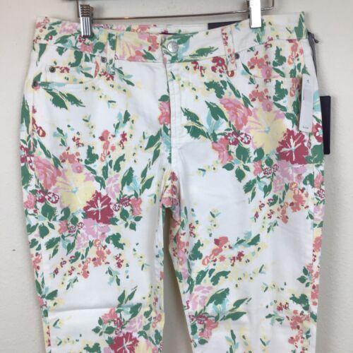 14 Nwt Audrey Cheville P Floral Imprimé Nydj Femmes qCfRdq