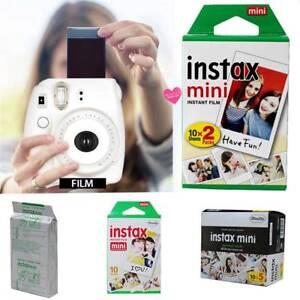 10-20-50-PCS-Fuji-Instax-Mini-8-9-50-70-90-Sofortiger-weisser-Film-fuer-Fujifilm