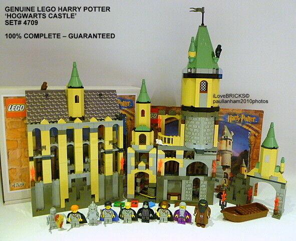 Lego Harry Potter Hogwarts Castillo Set 4709 todas las figuras 100% Garantía Completa
