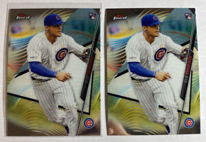 2020-Topps-Finest-Baseball-Rookie-Card-RC-Nico-Hoerner-Chicago-Cubs-45-LOT-2