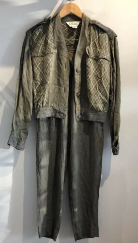Vintage Sunny Leigh Womens Pant Suit Size Small