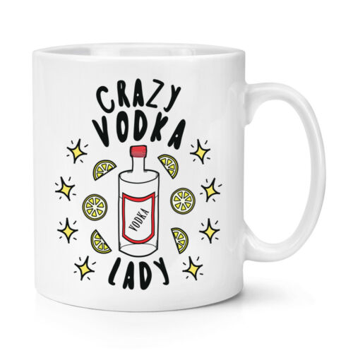 Crazy vodka LADY STARS 10 oz environ 283.49 g Tasse Drôle Blague ivre Maman Mères Jour