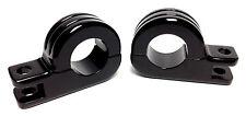 """BLACK FOOT PEG MOUNTS FOR 1.25"""" CRASH BAR HARLEY ENGINE GUARD FOOTPEG MOUNTS"""
