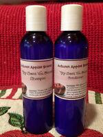 Lavender Vanilla Shampoo & Conditioner Set -4oz Super Soft Hair, Strong Scented