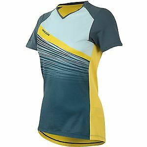Pearl Izumi Women's, Launch Jersey, blueee Steel    Skylight Fracture, Size S  free shipping