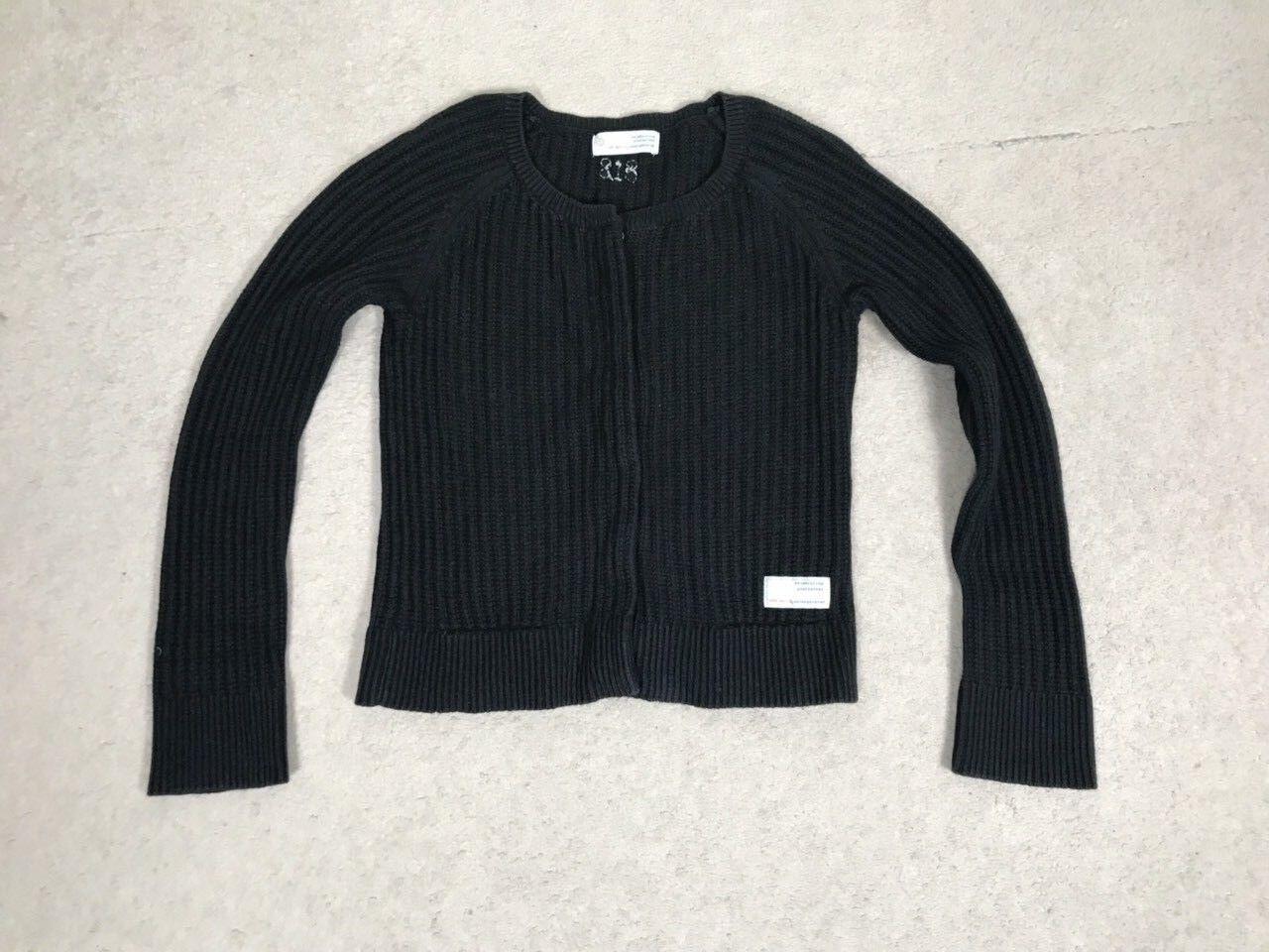 SALE Women's ODD MOLLY Knitted bluee Long Sleeve Cardigan Sweater Top Size 0