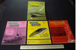 1965-Vintage-Model-Maker-Magazine-x-4-Ships-Cars-Yachts-Adverts-Engineering-17