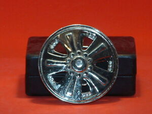 Pre-Owned-Silver-Tone-Spinning-Car-Rim-Belt-Buckle